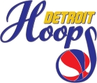 Detroit Hoops logo