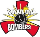 Phenix City Bombers logo
