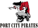 Port City Pirates logo]