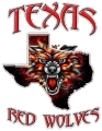 Texas Red Wolves logo